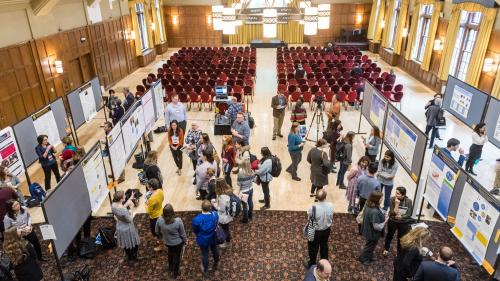 HPE Day 2018 Overhead Shot Poster Session