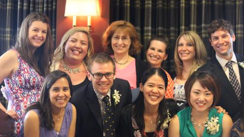 Dr. Katy Gold and Residents