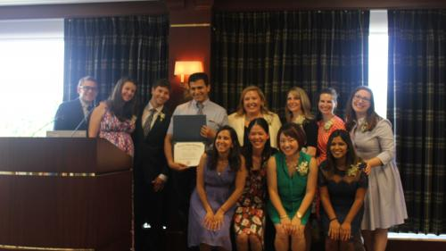 Dr. Gus Toma and Residents