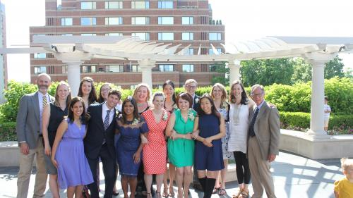Congratulations to our newest family physicians. Go Blue!