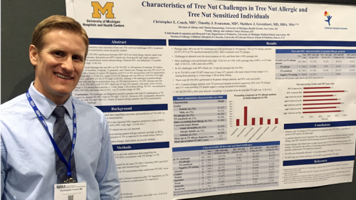 U-M Allergy & Clinical Immunology Program Graduate Christopher Couch