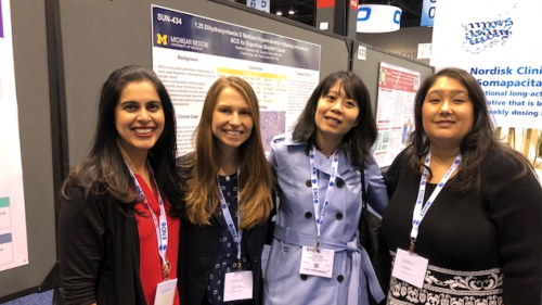 U-M MEND faculty and fellows at Endo Society 2018