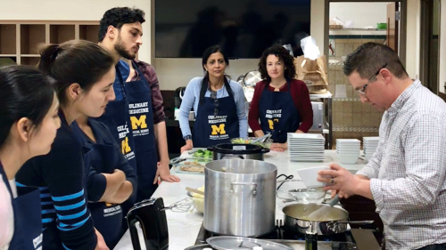 U-M MEND faculty and students - Culinary Medicine Program