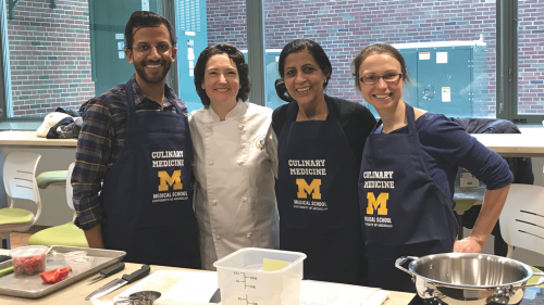 U-M MEND faculty and fellows - Culinary Medicine Program