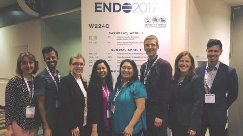 U-M MEND faculty & fellows at ENDO 2017
