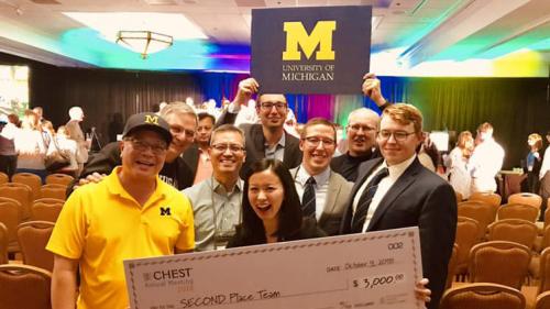 2018 CHEST - U-M Pulmonary & Critical Care Medicine Faculty & Fellows