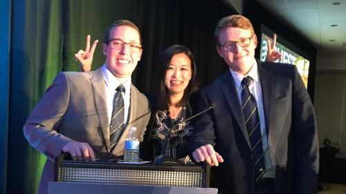 2018 CHEST - Drs. Patrick Bradley, Bonnie Wang & Matthew Hensley