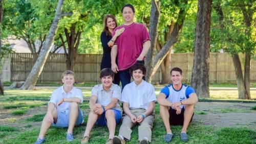 Tammy Wood, Derek Wood and sons