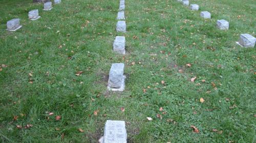 Fairview Cemetery gravestones