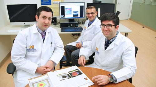 Ophthalmology Residents in the resident suite