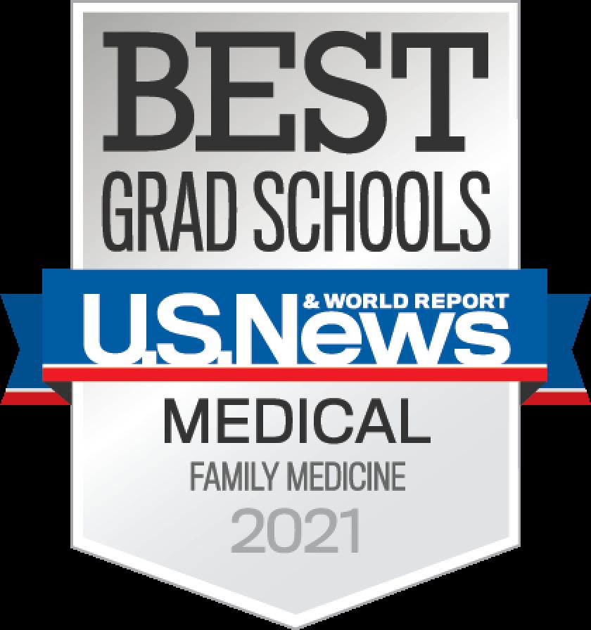 Best Grad School US News & world Report Medical Family Medicine 2021