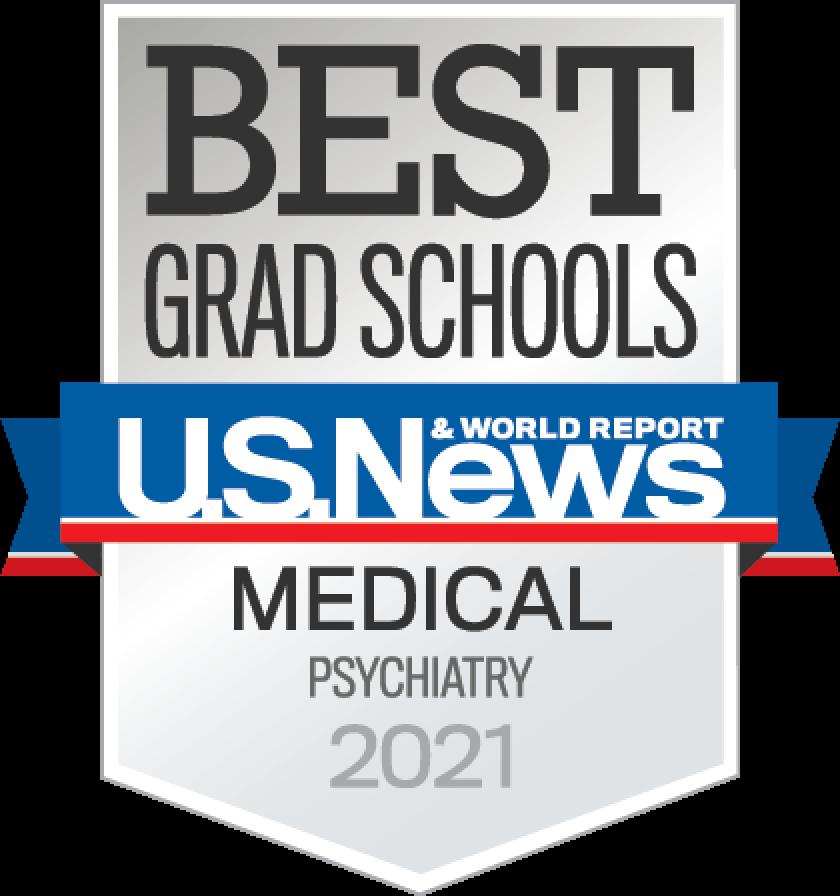 Best Grad School US News & world Report Medical Psychiatry 2021