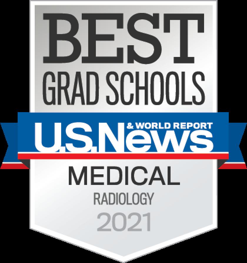 Best Grad School US News & world Report Medical Radiology 2021