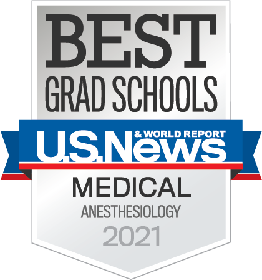 Best Grad School US News & world Report Medical Anesthesiology 2021